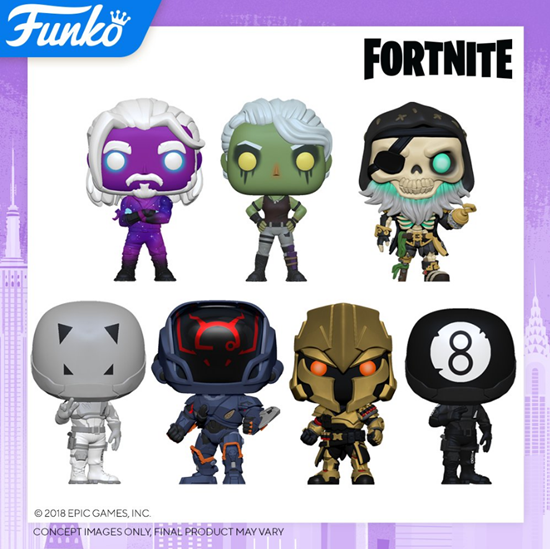 Picture of Fortnite POP! Games Vinyl PACK DISPONIBLE APROX: 10/2020