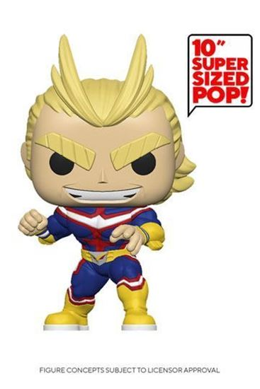 Picture of My Hero Academia Super Sized POP! Animation Vinyl Figura All Might 25 cm DISPONIBLE APROX: ABRIL 2021