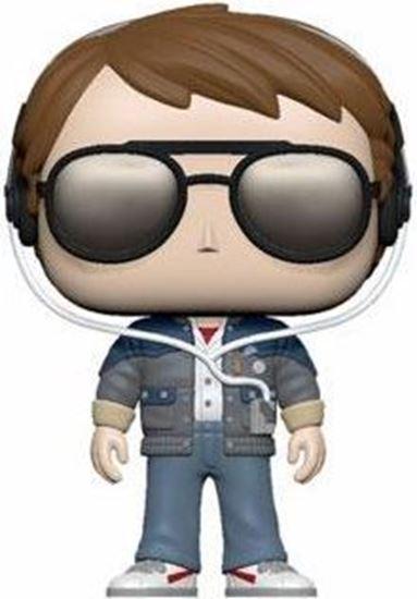 Picture of Regreso al Futuro POP! Vinyl Figura Marty w/glasses 9 cm