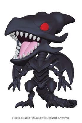 Picture of Yu-Gi-Oh! Pop! Animation Vinyl Figura Red-Eyes Black Dragon 9 cm