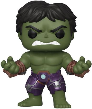 Picture of Marvel's Avengers (2020 video game) POP! Marvel Vinyl Figura Hulk Stark Tech 9 cm. DISPONIBLE APROX: MAYO 2020