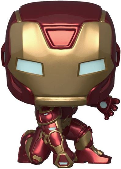 Picture of Marvel's Avengers (2020 video game) POP! Marvel Vinyl Figura Iron Man Stark Tech 9 cm