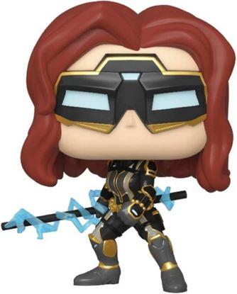Picture of Marvel's Avengers (2020 video game) POP! Marvel Vinyl Figura Black Widow Stark Tech 9 cm. DISPONIBLE APROX: MAYO 2020