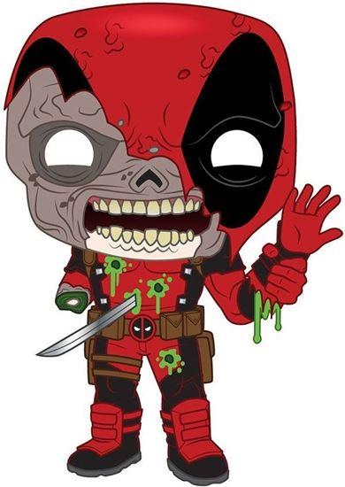 Picture of Marvel Figura POP! Vinyl Zombie Deadpool 9 cm. DISPONIBLE APROX: NOVIEMBRE 2020