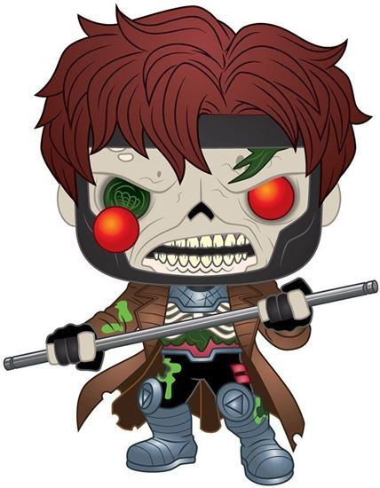 Picture of Marvel Figura POP! Vinyl Zombie Gambit 9 cm. DISPONIBLE APROX: NOVIEMBRE 2020