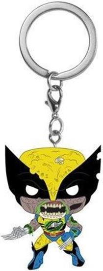 Picture of Marvel Llavero Pocket POP! Vinyl Zombie Wolverine 4 cm. DISPONIBLE APROX: NOVIEMBRE 2020