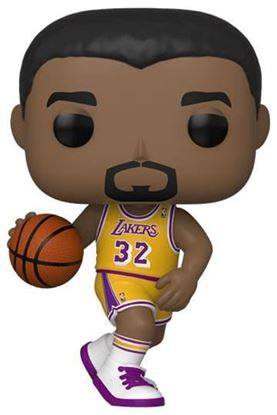 Picture of NBA Legends POP! Sports Vinyl Figura Magic Johnson (Lakers home) 9 cm