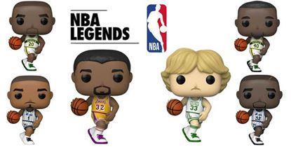 Picture of NBA Legends POP! Sports Vinyl PACK