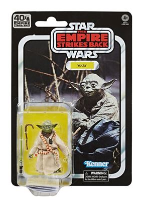 Picture of Star Wars Episode V Black Series Figuras 15 cm 40th Anniversary 2020 Wave 1  Yoda