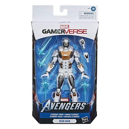 Picture of Avengers Video Game Marvel Legends Series Gamerverse Figura Iron Man (Starboost Armor) 15 cm