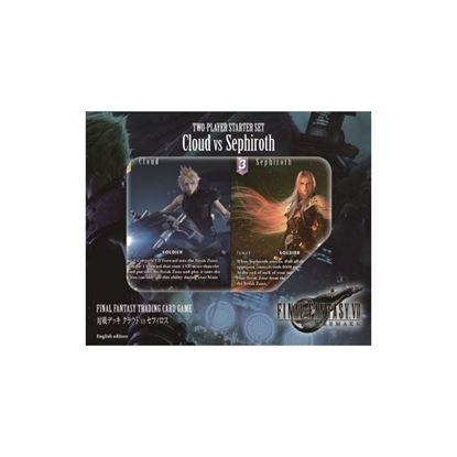Picture of Final Fantasy trading card game set de iniciación para dos jugadores CLOUD VS. SEFIROT