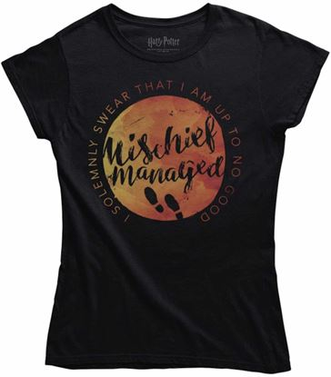 "Picture of Camiseta Chica ""Mischief Managed"" Talla M - Harry Potter"