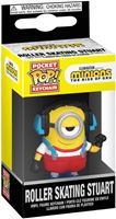 Picture of Minions 2: El Origen de Gru Llavero Pocket POP! Vinyl Roller Skating Stuart 4 cm