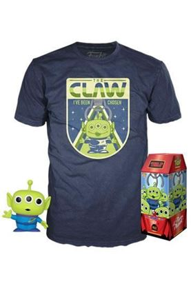 Picture of Toy Story POP! & Tee Set de Minifigura y Camiseta The Claw TALLA L