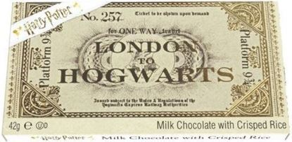 Picture of Tableta Chocolate Billete Hogwarts Express - Harry Potter