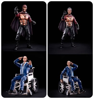 Picture of Marvel Legends X-Men 20 aniversario Professor X y Magneto