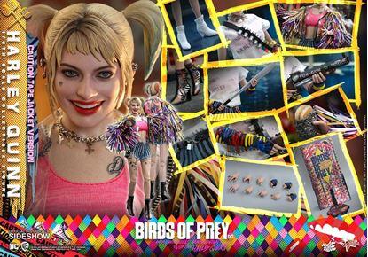 Picture of Birds of Prey Figura Movie Masterpiece 1/6 Harley Quinn (Caution Tape Jacket Version) 29 cm