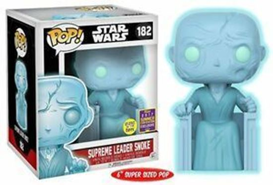 Picture of Supreme Leader Snoke (Holographic) SDCC