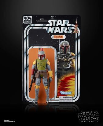 Picture of Star Wars 40th Anniversary SDCC Boba Fett Black Series