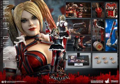 Picture of Batman Arkham Knight Figura Videogame Masterpiece 1/6 Harley Quinn 30 cm RESERVA