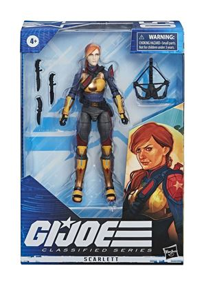 Picture of G.I. Joe Classified Series Figuras 15 cm 2020 Wave 1  Scarlett