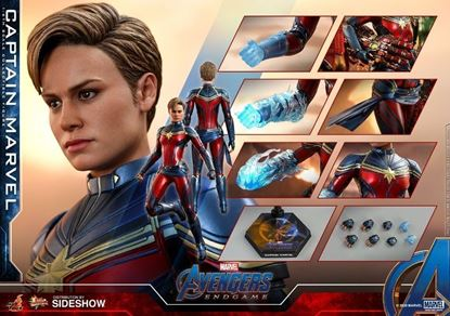 Picture of Captain Marvel Figura Movie Masterpiece 1/6 Avengers Endgame