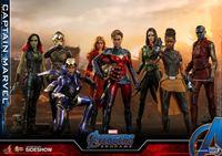 Picture of Captain Marvel Figura Movie Masterpiece 1/6 Avengers Endgame RESERVA