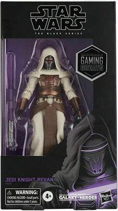 Picture of Star Wars Galaxy of Heroes Black Series Jedi Knight Darth Revan