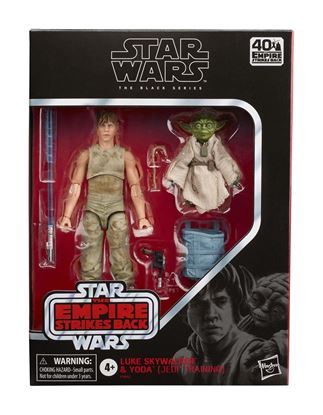 Picture of Star Wars Episode V Black Series Pack de 2 Figuras 2020 Luke Skywalker and Yoda (Jedi Training)