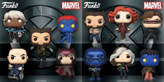 Picture of X-Men 20th Anniversary POP! Marvel PACK 11 FIGURAS. DISPONIBLE APROX: SEPTIEMBRE 2020