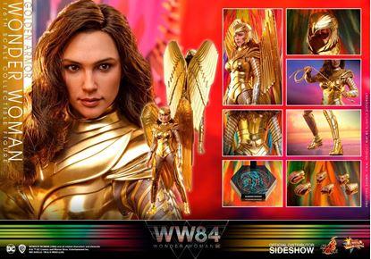 Picture of Wonder Woman 1984 Figura Movie Masterpiece 1/6 Golden Armor Wonder Woman 30 cm