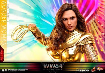 Picture of Wonder Woman 1984 Figura Movie Masterpiece 1/6 Golden Armor Wonder Woman (Deluxe) 30 cm