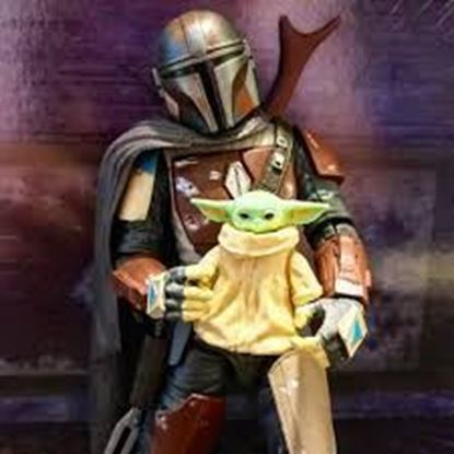 Picture of Star Wars black series PACK MANDALORIAN CARBONIZED AND THE CHILD