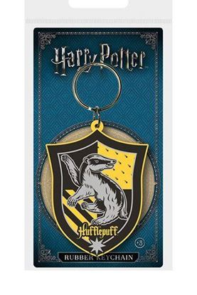 Picture of Harry Potter Llavero caucho Hufflepuff 6 cm