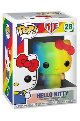 Picture of Pride 2020 Hello Kitty Figura POP! Sanrio Vinyl Hello Kitty (RNBW) 9 cm