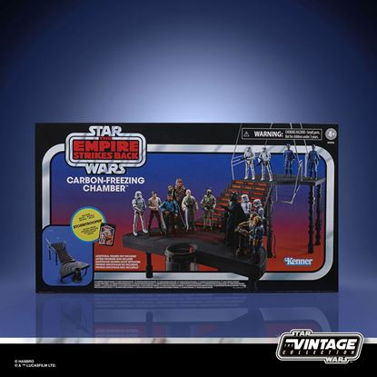 Picture of Star Wars Episode V Vintage Collection Carbon-Freezing Chamber con figura de Stormtrooper 10 cm