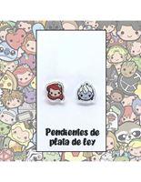 Picture of PENDIENTE ARIEL/ÚRSULA RESINA Y PLATA DE LEY