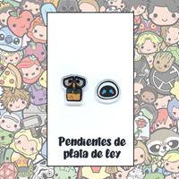 Picture of PENDIENTES WALLE Y EVA RESINA/PLATA