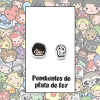 Picture of PENDIENTES HARRY Y HEDWIGH (RESINA Y PLATA)