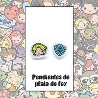 Picture of PENDIENTES ZELDA (RESINA Y PLATA)