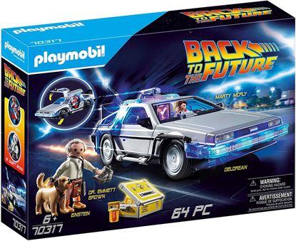 Picture of PLAYMOBIL- Back to The Future Delorean con Efectos de Luz, A Partir de 6 Años, Multicolor