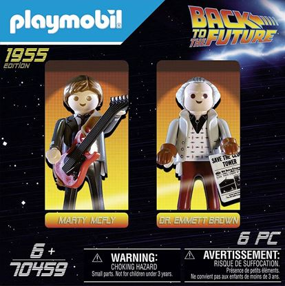 Picture of PLAYMOBIL-Back to The Future Marty Mcfly y Dr. Emmett Brown