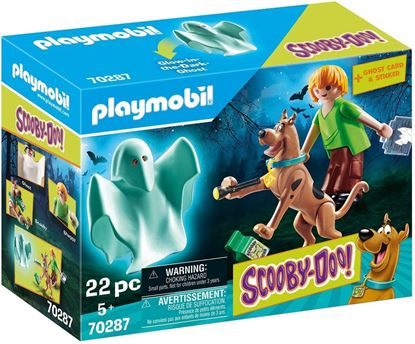 Picture of PLAYMOBIL-Scooby-Doo, Scooby & Shaggy con Fantasma