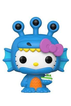 Picture of Hello Kitty Kaiju Figura POP! Sanrio Vinyl Hello Kitty Sea Kaiju 9 cm DISPONIBLE APROX: SEPTIEMBRE 2020