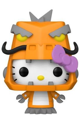 Picture of Hello Kitty Kaiju Figura POP! Sanrio Vinyl Hello Kitty Mecha Kaiju 9 cm