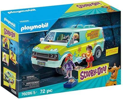 Picture of PLAYMOBIL Scooby-DOO La Máquina del Misterio con Efectos de Luz, A Partir de 5 Años