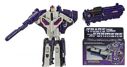 Picture of TRIPLE CHANGER ASTROTRAIN FIGURA 12 CM TRANSFORMERS VINTAGE G1