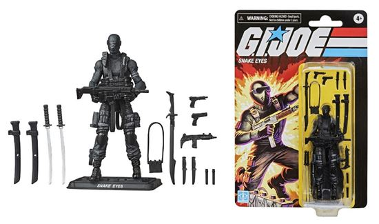 Picture of SNAKE EYES FIGURA 12 CM GIJOE RETRO SERIES