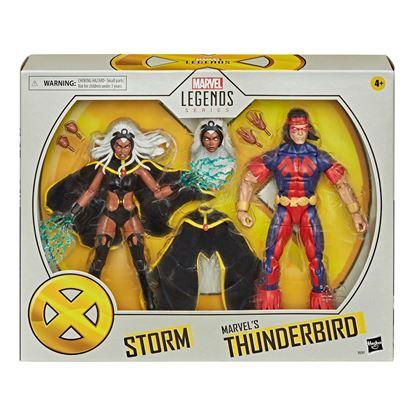 Picture of Marvel Legends Pack de 2 Figuras Storm & Marvel's Thunderbird 15 cm