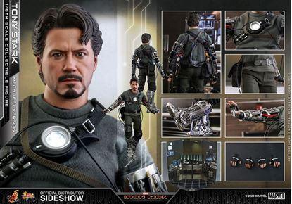 Picture of Iron Man Figura Movie Masterpiece 1/6 Tony Stark (Mech Test Version) 30 cm RESERVA